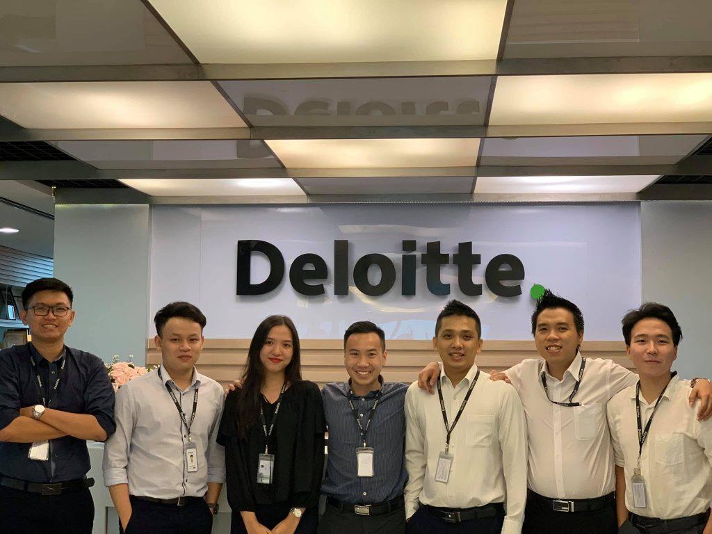 Kinh nghiệm phỏng vấn và thực tập ở Deloitte